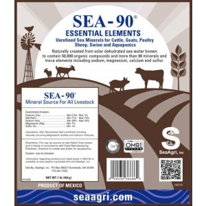 Sea Minerals For Livestock